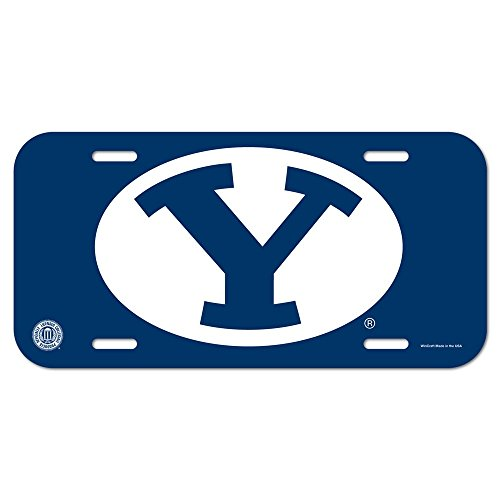 WinCraft NCAA Brigham Young University License Plate - Byu Brigham Young University