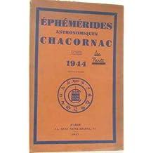 Éphémérides astronomiques chacornac 1944