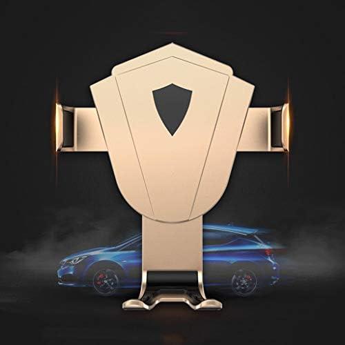 金人間の特徴をもつ車の電話ブラケット、安定した出口の携帯電話ブラケット車のブラケット360°スマートフォンのための調節可能なGPSブラケット金は電話を傷つけません