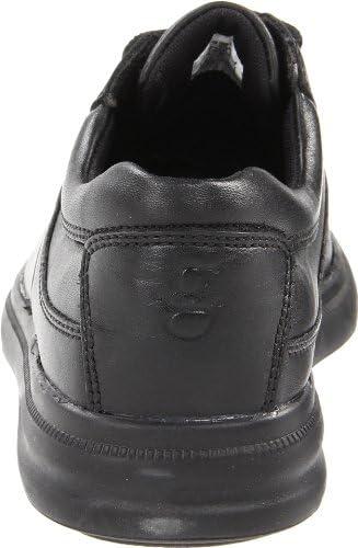 Hush Puppies GLEN / BLACK LEATHER BLACK LEATHER 8 W