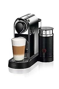 Breville Nespresso Citiz & Milk Coffee Machine, Chrome, BEC650MC