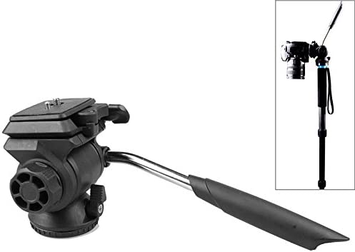 ビデオカメラ&ビデオアクセサリ Q111カメラ/一眼レフカメラ用のビデオ撮影用三脚ヘッドの減衰