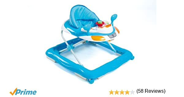 Olmitos Basic - Andador actividades, color azul: Amazon.es: Bebé