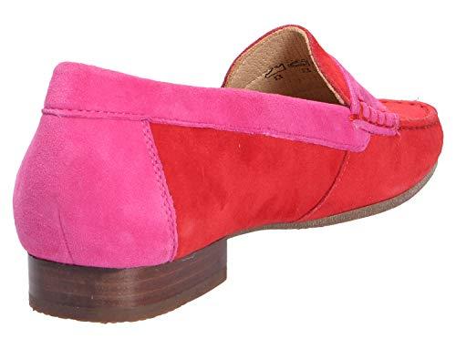 fire 005 pink Femme Sioux Mocassins Corbina gw7qSBx4R