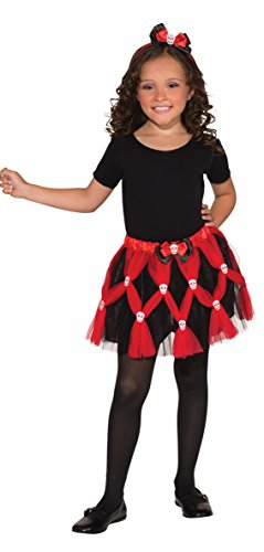 Forum Novelties Sassy Tutu Child Costume Set, (Pirate Tutu Costumes)