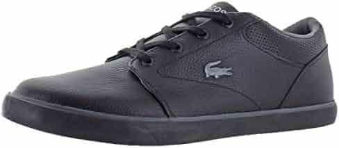 9e6fb7b70580 Lacoste Men s Minzah Pebbled Leather Court Fashion Sneaker Shoes