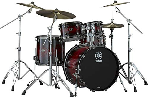(Yamaha Live Custom Hybrid Oak 5-piece Shell Pack - Magma)