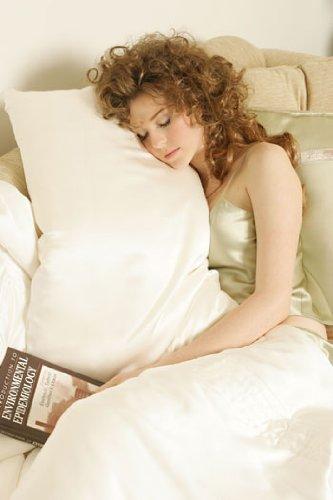 kumi kookoon Extra Fill Silk Pillow - King by kumi kookoon