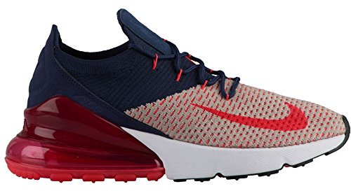 270 Red Moon Navy de Gymnastique 200 Femme Max College Chaussures Orbit NIKE Multicolore Air Flyknit Particle Pqzx1BgwE