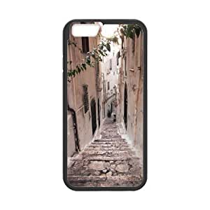 ALICASE Diy Hard Cover Case Of Road for iPhone 4 4s [Pattern-1]