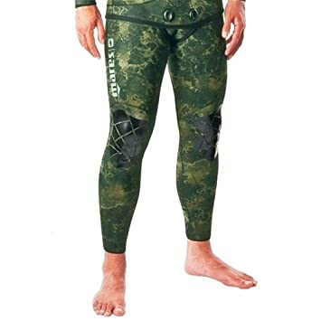 Amazon.com: Mares Pure Instinct 3.5mm Green Camo Pants: Sports ...