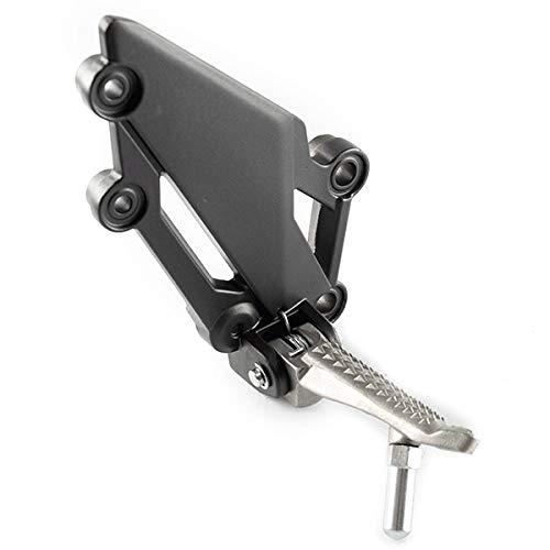 for Lexmoto LXR 125 SY125-10 RRFPG010 Rider Footpeg Right Black Bracket