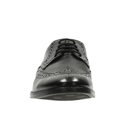 Clarks Broyd Limit, Zapatos de Cordones Oxford para Hombre Negro