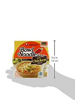 Nongshim Bowl Noodle Soup, Spicy Chicken, 3.03 Ounce (Pack Of 12) 4
