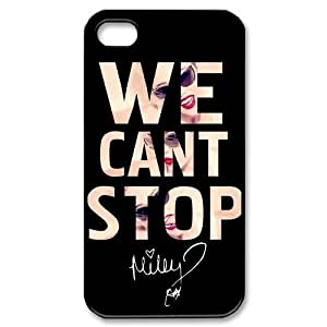 Collectibles Miley Cyrus Apple Iphone 4S/4 Case Cover We Can Not Stop Quotes hjbrhga1544