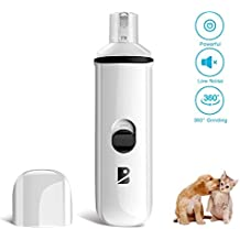 Dog Nail Grinder Electric Pet Nail Grinder Trimmers Paws Clipper Nail Grooming Tools for Dogs, Cats and other Large & Medium & Small Pets