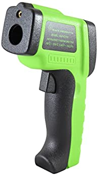 BAFX Products Non Contact Infrared (Ir) Thermometer Adjustable Emissivity with Pointer Sight