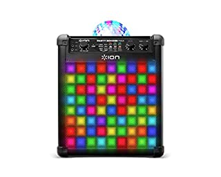 ION Audio Party Rocker Max   100W Portable Bluetooth Party Speaker System & Karaoke Centre with Built-In Rechargeable Battery, Dome Party Light Display, LED Light Grille & Microphone (B01ITAG8NK)   Amazon price tracker / tracking, Amazon price history charts, Amazon price watches, Amazon price drop alerts