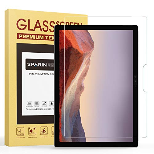 SPARIN Ultra Clear High Definition Tempered Glass Screen Protector for Microsoft Surface Pro 4