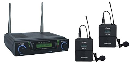 Pyle PDWM3700 Wireless Microphone System
