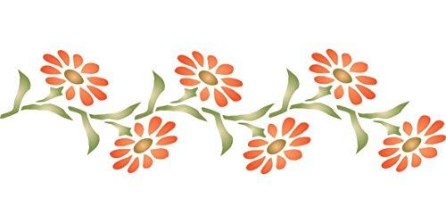 Daisy Stencil - (size 9.5