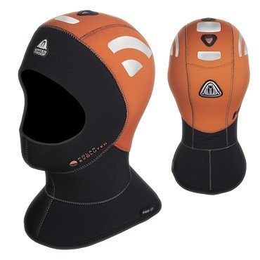 Waterproof H1 5/10mm High Visibility Polar Evo Hood, X-Large by Waterproof