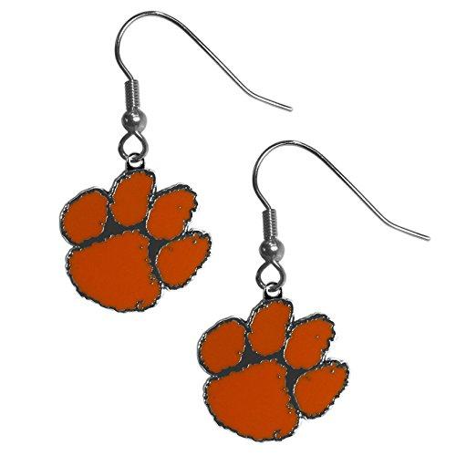 Siskiyou NCAA Clemson Tigers Chrome Dangle Earrings ()