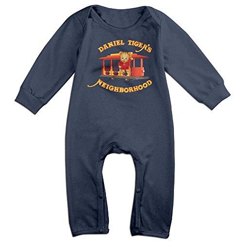 HOHOE Babys Daniel Neighborhood Long Sleeve Bodysuit Outfits 6 (Austin Powers Suit For Sale)