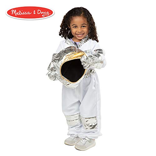Melissa & Doug Astronaut Role-Play Costume Set (Pretend Play, Materials, Machine-Washable) -