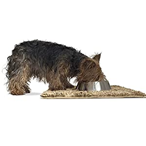 FurHaven Pet Dog Mat | Muddy Paws Towel & Shammy Rug, Sand (Tan), Small Click on image for further info.