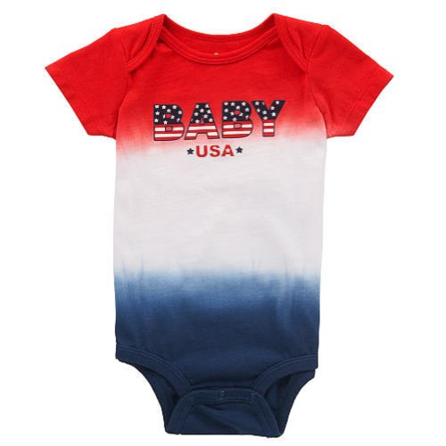 Koala Baby Boys' Tie Dye Bodysuit with Ring Snap Closure - Size: Newborn