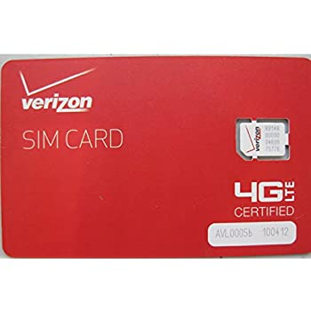 verizon iphone sim card verizon wireless 4g lte nano sim card 4ff 1285