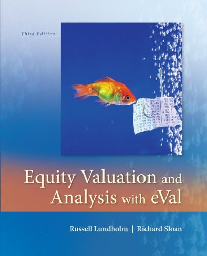 EQUITY VALUATION+ANALYSIS WITH EVAL