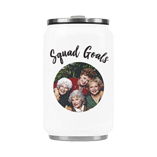 Price comparison product image WECE Squad Goals Stainless Steel Travel Mug / Coca Cup / Car Cup - 10.3 Ounces