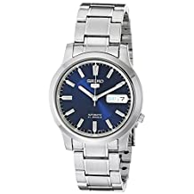 Seiko Men's SNK793 Seiko 5 Automatic Blue Dial Stainless-Steel Bracelet Watch