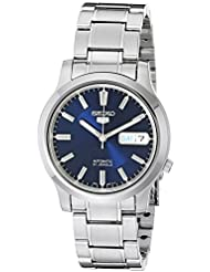 Seiko 5 Mens SNK793 Automatic Stainless Steel Watch with Blue Dial