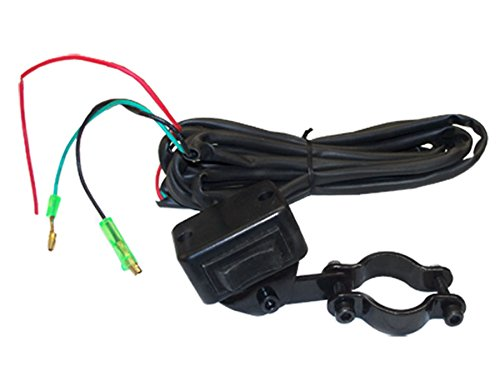 WATERPROOF ATV Mini Rocker Winch Switch Handlebar Remote Control Pump Hoist (Pump Handlebar)