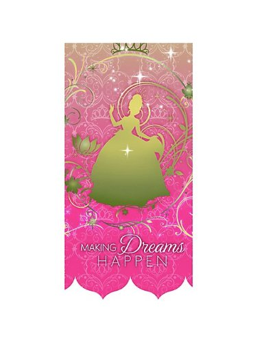 Princess and the Frog Table Cover (Each)