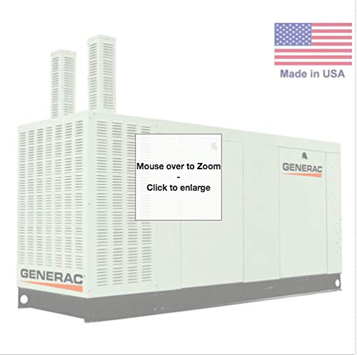 Generac STANDBY GENERATOR 30 kW - 120/208V - 3 Phase - NG & LP - CA Compliant