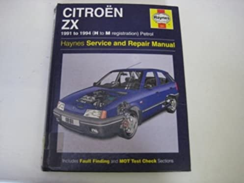 citroen zx petrol service and repair manual haynes service and rh amazon com Haynes Repair Manuals Online Haynes Repair Manual Online View