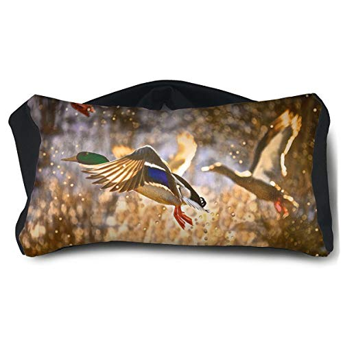 Eye Mask Eye Pillow Duck Painting Eyeshade Blindfold For Yoga Sleep Aid Stress Relief Travel Work Naps