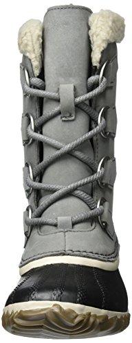 Sorel Caribou Slim, Stivali da Neve Donna Grigio (Quarry)