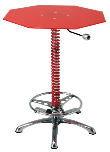 UPC 689466646375, Pitstop Furniture BT7000R Red Crew Chief Bar Table