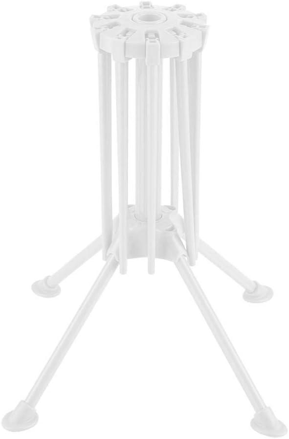 Pasta de Cocina Secador de Racks de Secado Fideos Spaghetti Pasta de Secado Rack Stand Dryer Herramienta de Cocina Plegable Rack de Secado Soporte de Fideos Tall Spaghetti Noodle Dryer Stand Blanco