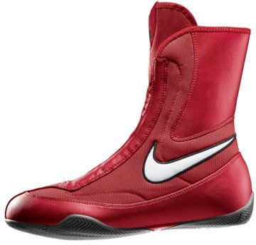 NIKE 333580-611 Men MID Boxing Shoe Varsity RED White