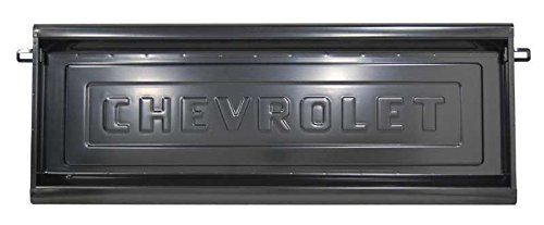 Tailgate w/ Chevrolet Letters - 54-87 Chevy GMC Truck Stepside - Pickup Tailgate Letters