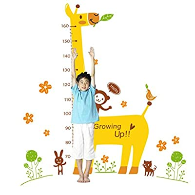 Wall Stickers, Pumsun Home Decor Cartoon Animal Wall Stickers Giraffe Decal, Removable Kid's Living Room Stickers