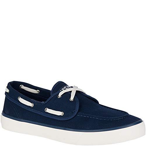 (SPERRY Men's Captains 2-Eye Sneaker, Navy, 9.5 M US)