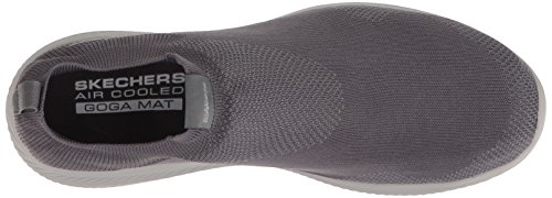 Skechers Mens Go Walk Revolution Ultra Jolt Sneaker Carboncino