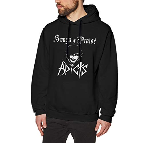 Zblin Mens Hoodie Sweatshirt The Adicts Songs of Praise New Classic Style Black